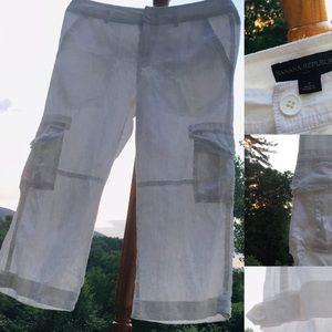 Banana Republic pants white, size 0